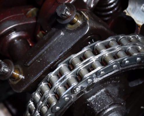 Замена ГРМ на двигателе M112
