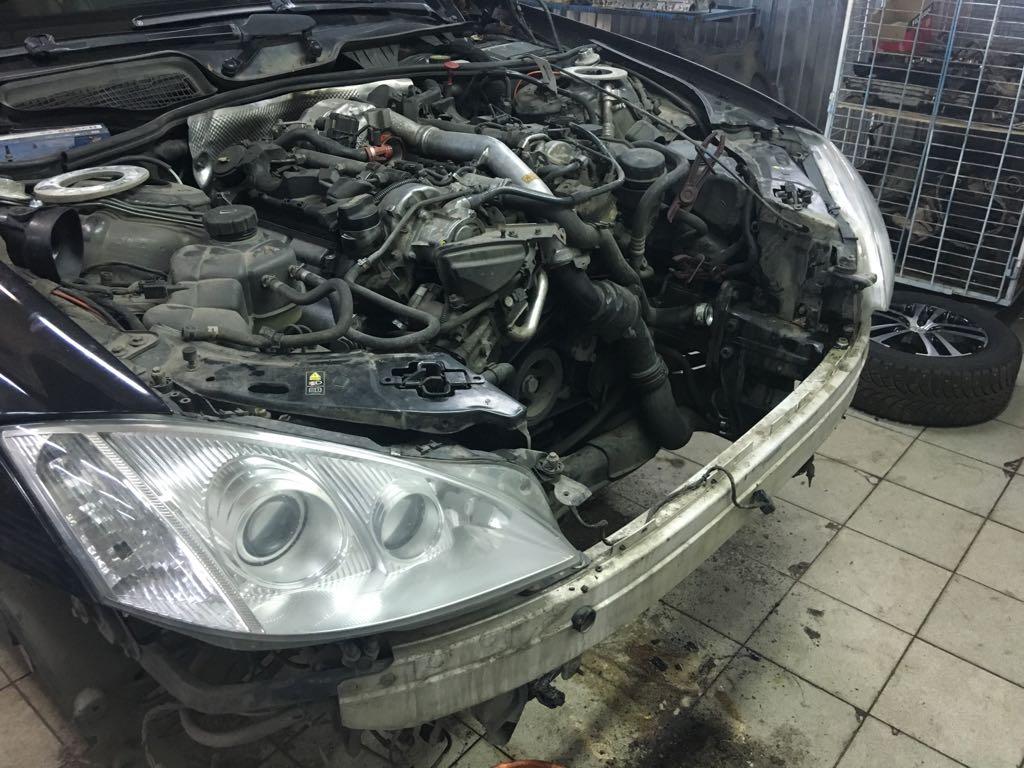 Ремонт Mercedes W221