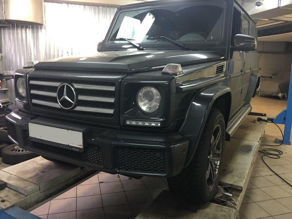 Шиномонтаж Mercedes G-class