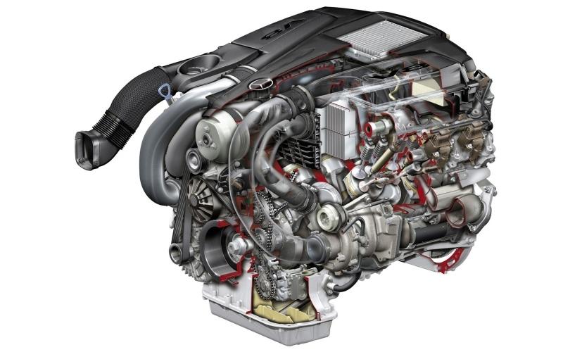 Двигатель Mercedes M278