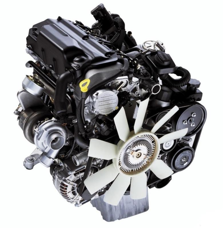 Двигатель Mercedes OM646